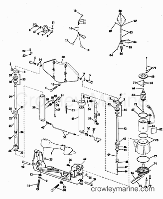 96 ford 460 engine diagram