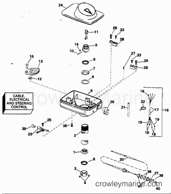 Yamaha 703 Remote Outboard Control Wiring Diagram moreover 40 Hp Honda Wiring Diagram in addition 1985 40 Hp Wiring Diagram moreover 40 Hp Gas Engine likewise System Parts Diagram On Cooling System Diagram On A 2005 Chevy Impala. on johnson outboard wiring diagrams