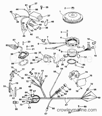 Johnson Outboard Electric Motor Wiring Diagrams as well Mercruiser Trim Wiring Harness Oildyne likewise  on 1988 omc wiring diagram pdf
