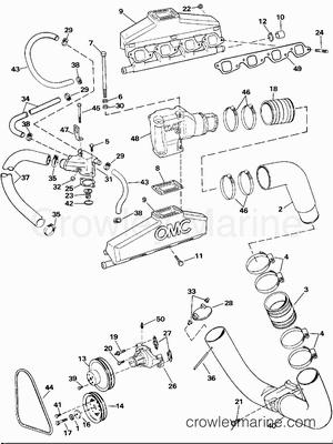 Mercruiser Cooling System Diagram