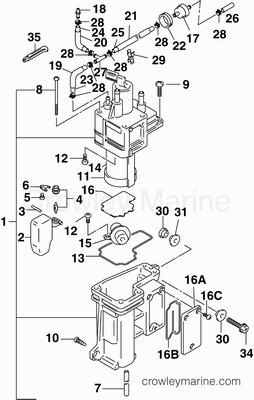 50 Horsepower Mercury Outboard Diagram