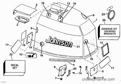 ENGINE COVER - JOHNSON