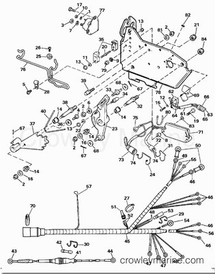 Johnson 9 Ignition Wiring Diagram on gm tachometer wiring harness diagram