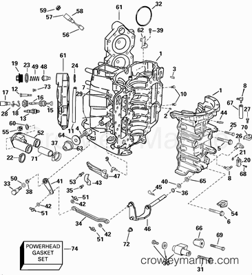 2002 Johnson Outboards 90 J90plsnf Parts Lookup