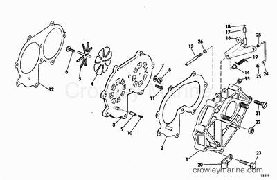 1986 Mercury 60 Hp Parts