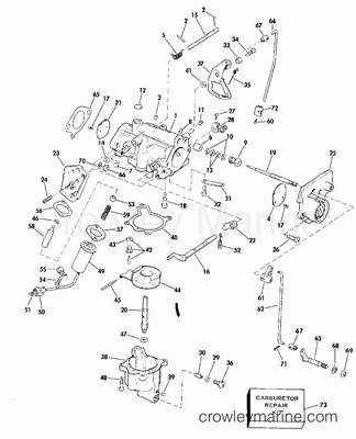 Id116 additionally Carburetor Assembly  plete together with Mercury in addition Mercury Outboard Water Pump Parts Diagram as well 25 Hp Johnson Outboard Motor Diagram. on evinrude 115 hp 1979 parts