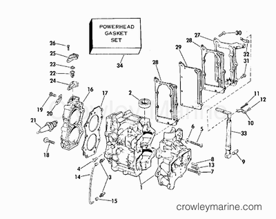 1975 johnson outboards 6  6r75r  - parts lookup
