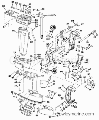 brp outboard wiring with 1989 Evinrude 88 Spl Wiring Diagram on Volvo Penta Wiring Diagram Manual also Outboard Steering Pulley besides Yamaha Outboard Steering Arm Cl furthermore 100 Hp Evinrude Motor as well 6hp Evinrude Fuel Pump Diagram.