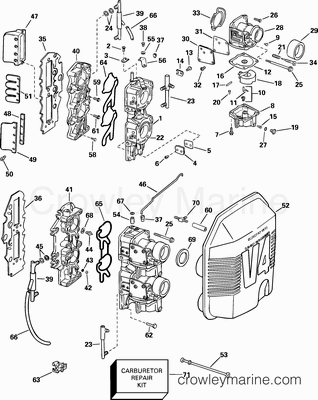 2003 Johnson Outboards 90 J90plstc Parts Lookup