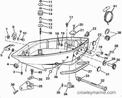 1992 yamaha outboard engine diagram 1992 yamaha 9 9 hp