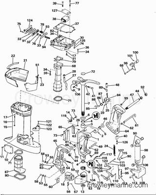 1985 johnson outboards 100 j100wmlcoc parts lookup crowley marine. Black Bedroom Furniture Sets. Home Design Ideas