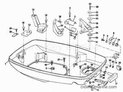 1970 evinrude outboards 60  60072d