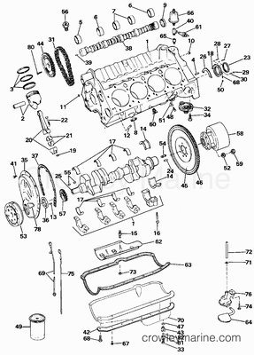 1989 omc stern drive 5 7  350aprmed