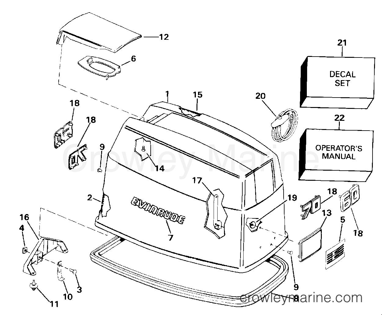 evinrude 70 wiring diagram database Evinrude Schematics engine cover evinrude 1993 evinrude outboards 70 e70tlets evinrude outboard 1993 evinrude outboards 70 e70tlets engine