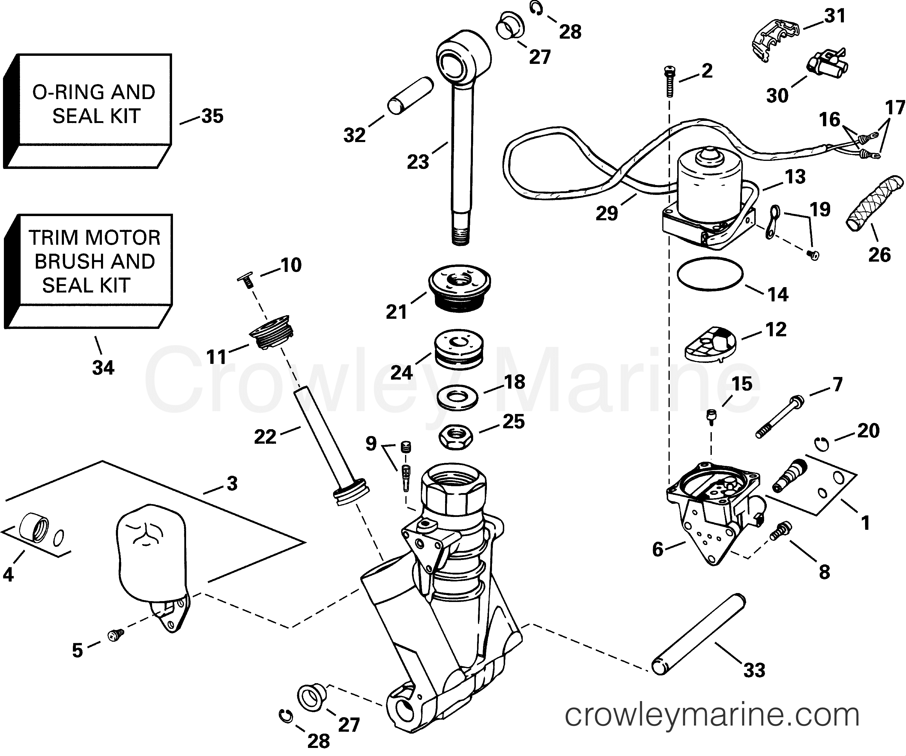 Omc Trim Tilt System Diagram Electrical Wiring Diagrams Johnson Outboard Power Hydraulic Assembly 2001 Evinrude Outboards 225 Starter Circuit