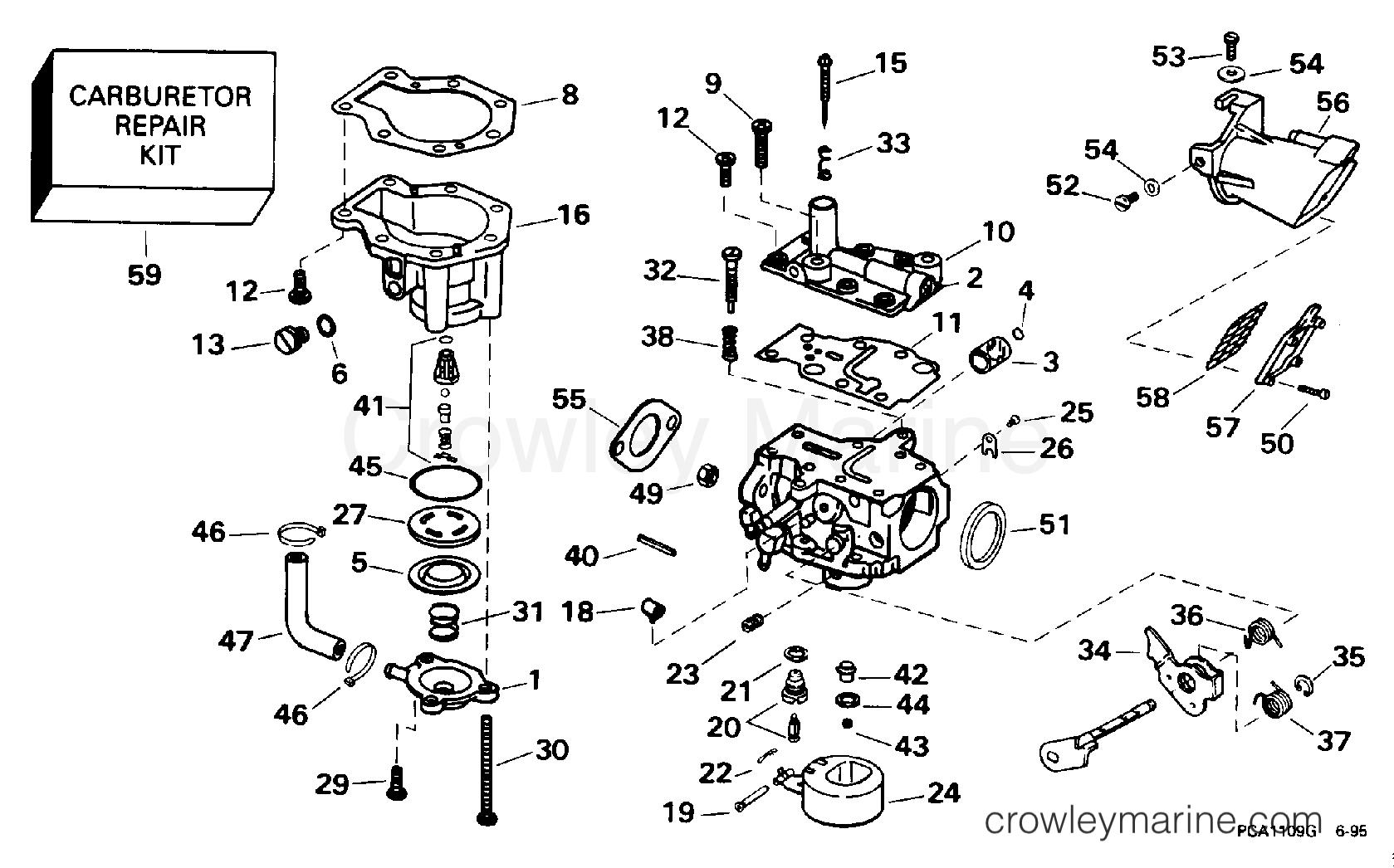 регулировка карбюратора лодочный мотор honda