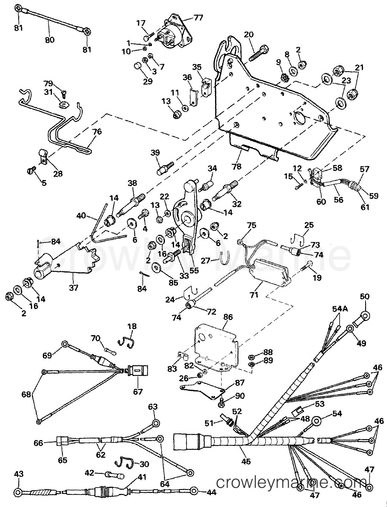 wire harness  bracket  u0026 solenoid