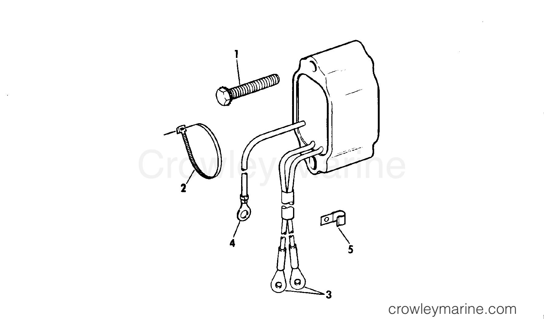 1979 Rigging Parts Accessories - Electrical System - REGULATOR KIT V-4 - V-6