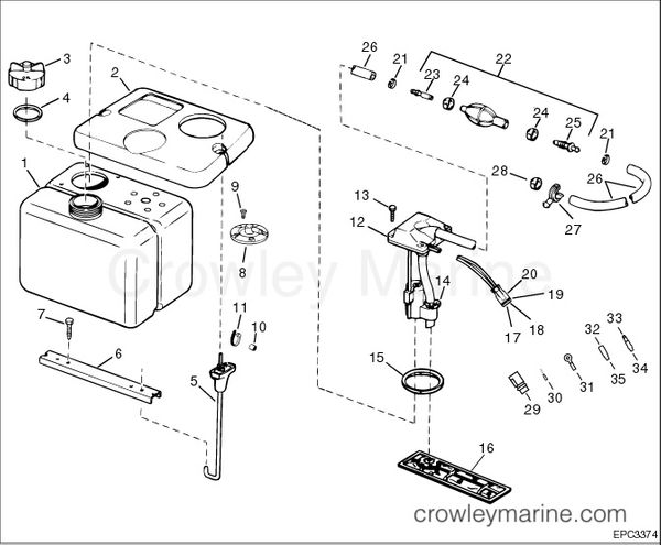 yamaha outboard fuel tank wiring installation instructions remote oil tank kit  remote oil tank