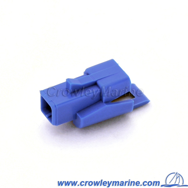 1 hole recept Connector-0310572