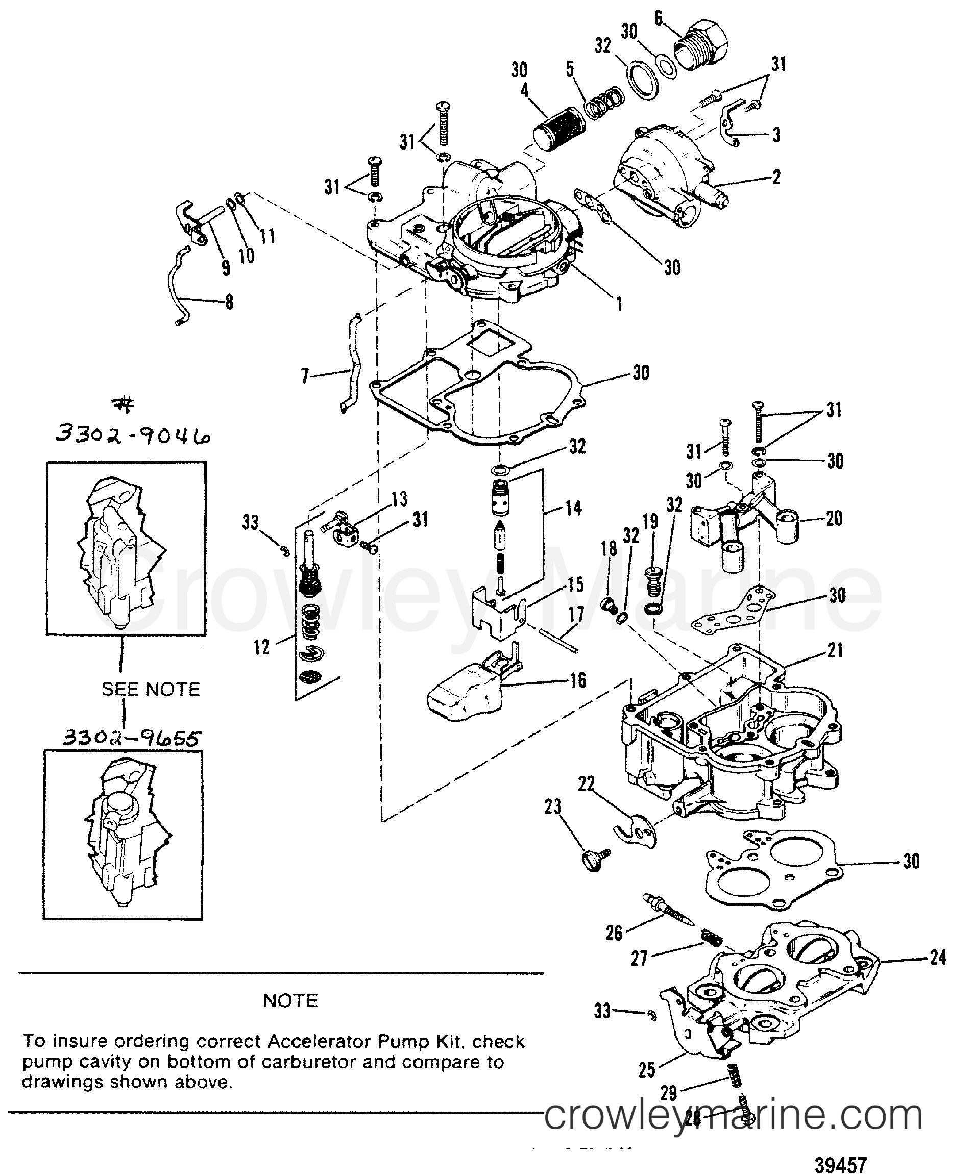 1985 mercruiser 170 drive diagrams