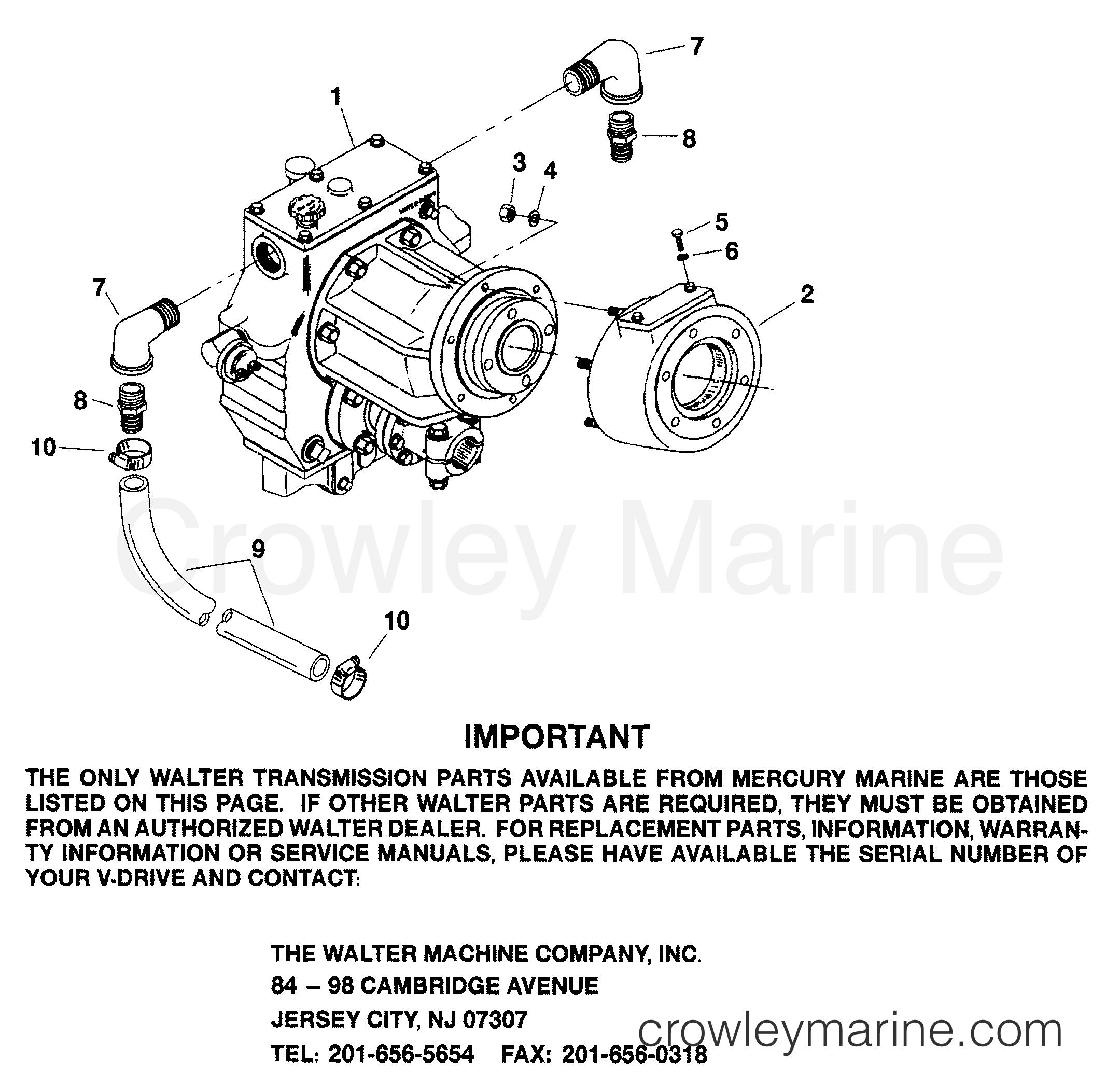 Mercury Marine Inboard Manuals Porsche Wds 24 Electrical Wiring Diagram Repair Manual Order Array Transmission V Drive Walter 1997 Engine 350 Rh Crowleymarine Com