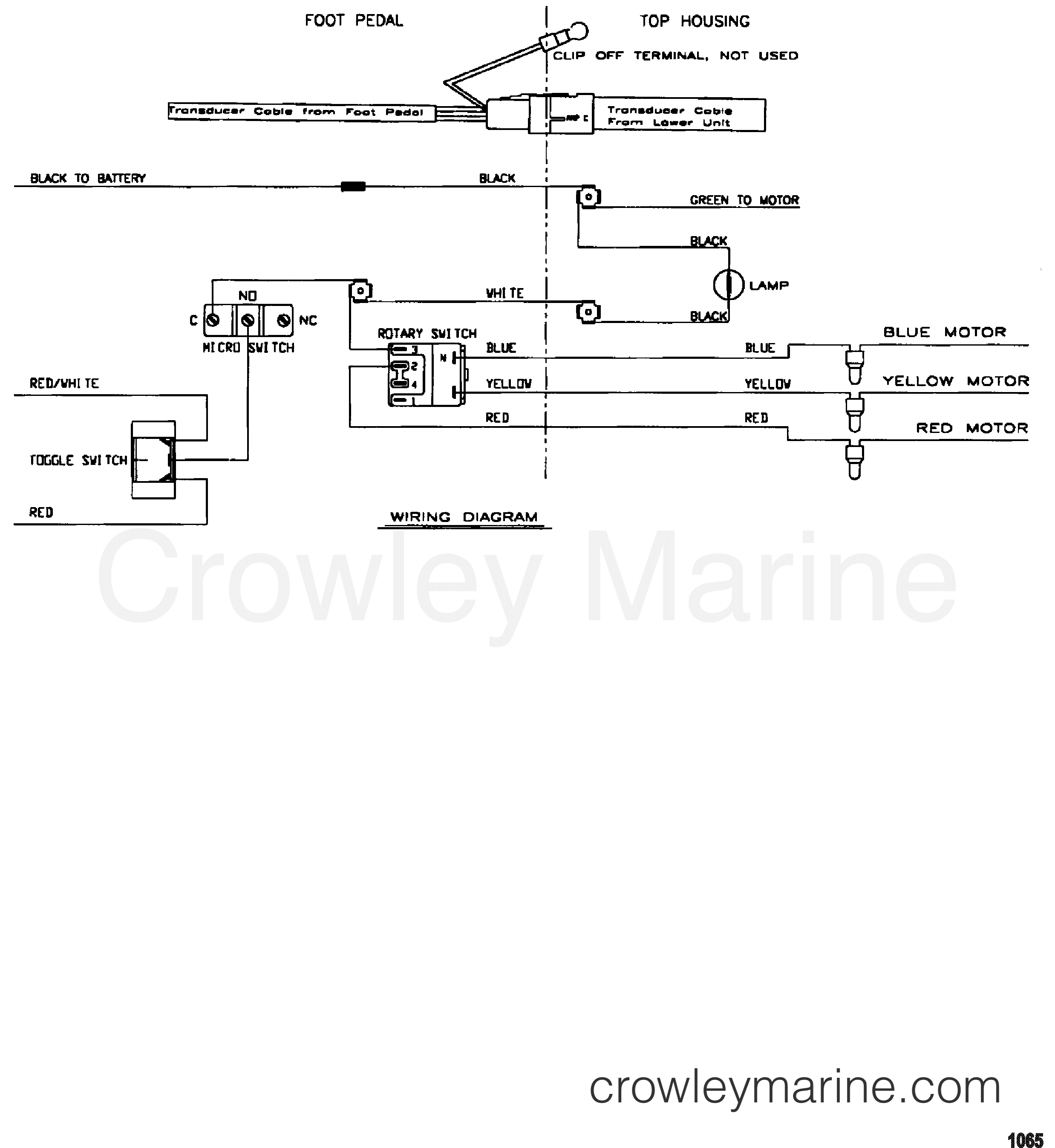 2000 MotorGuide 12V [MOTORGUIDE] - 9EF46B7W8 WIRE DIAGRAM(MODEL EF67P) (24 VOLT) section