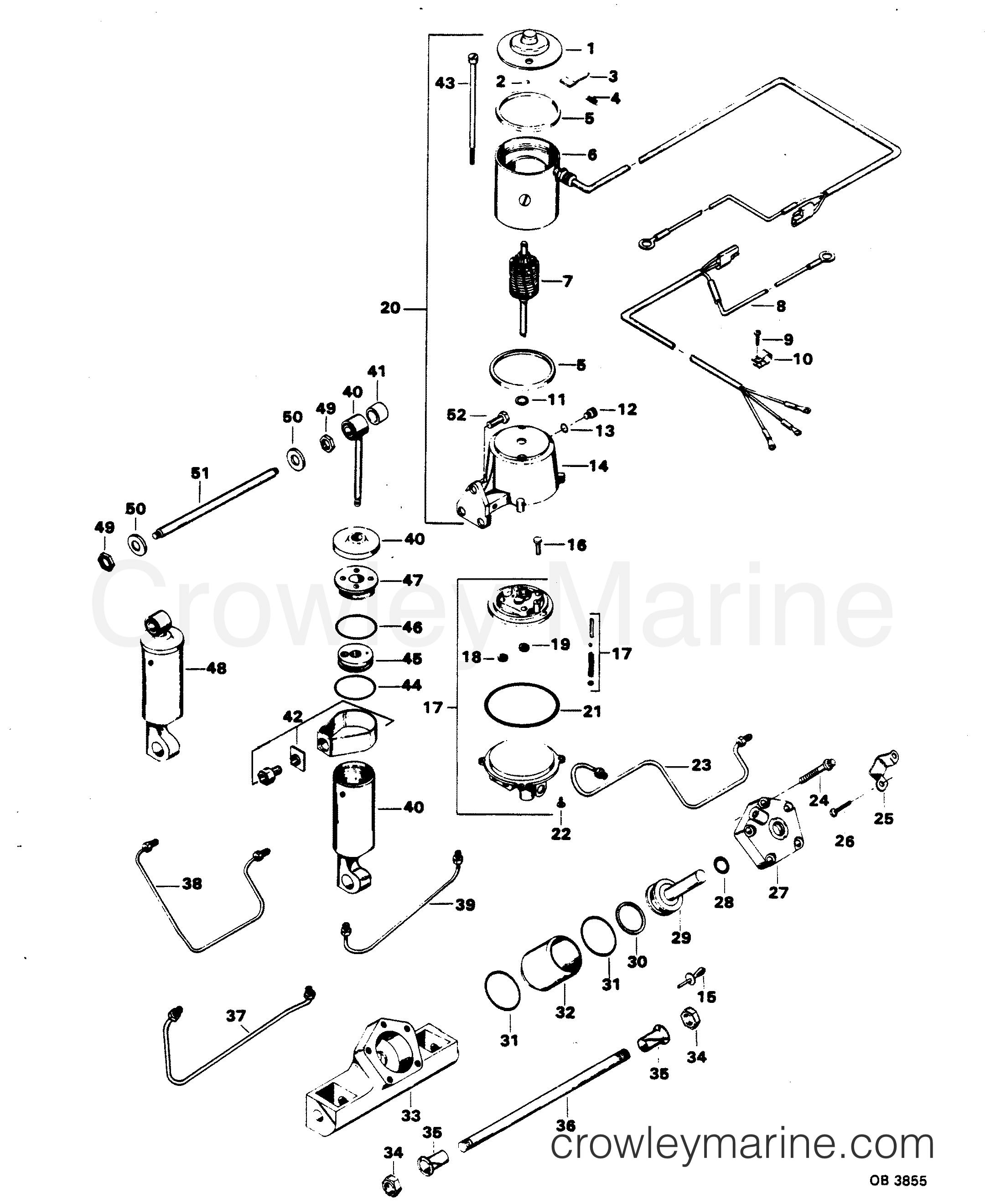 1983 Mercury Chrysler Outboard 1158b3f Carburetor Diagram And Parts