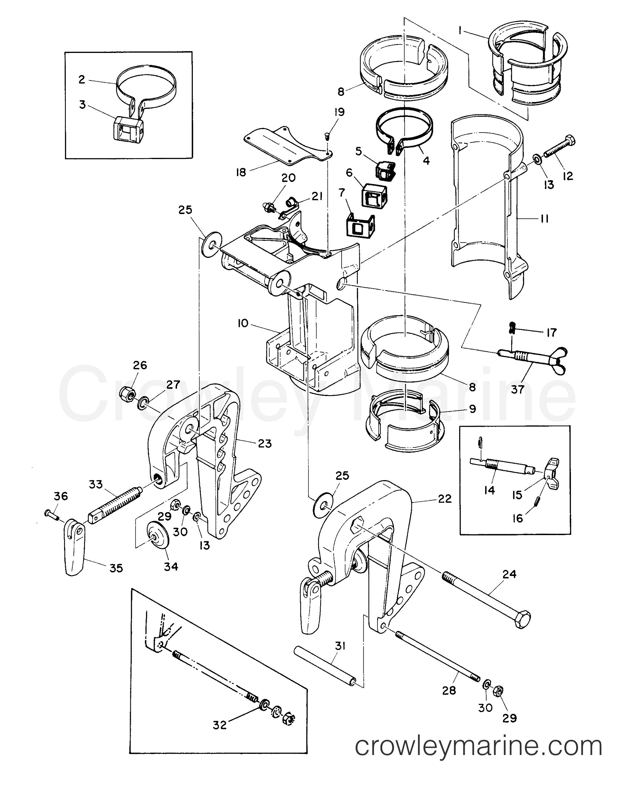 clamp and swivel bracket