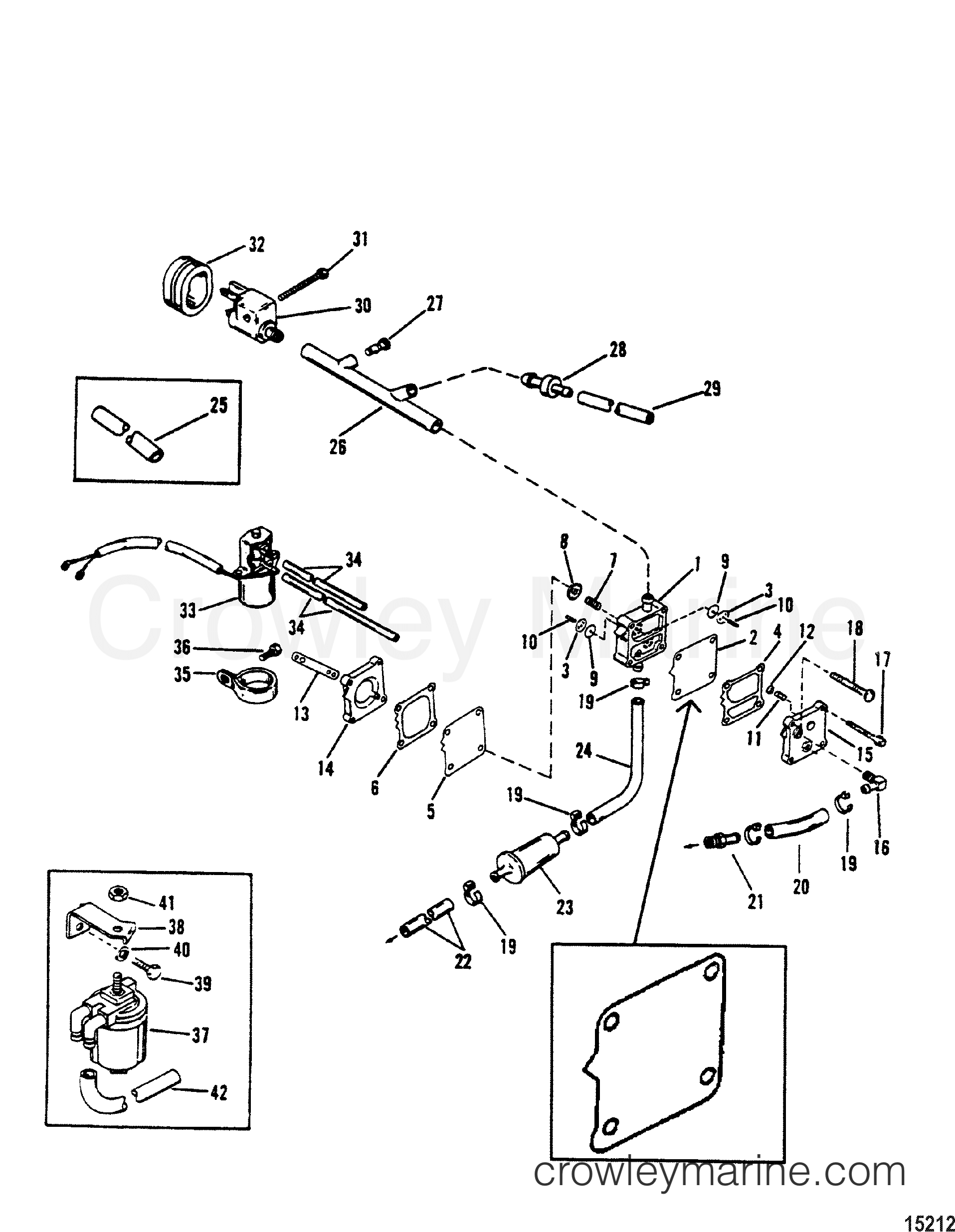 fuel pump use with inline check valve