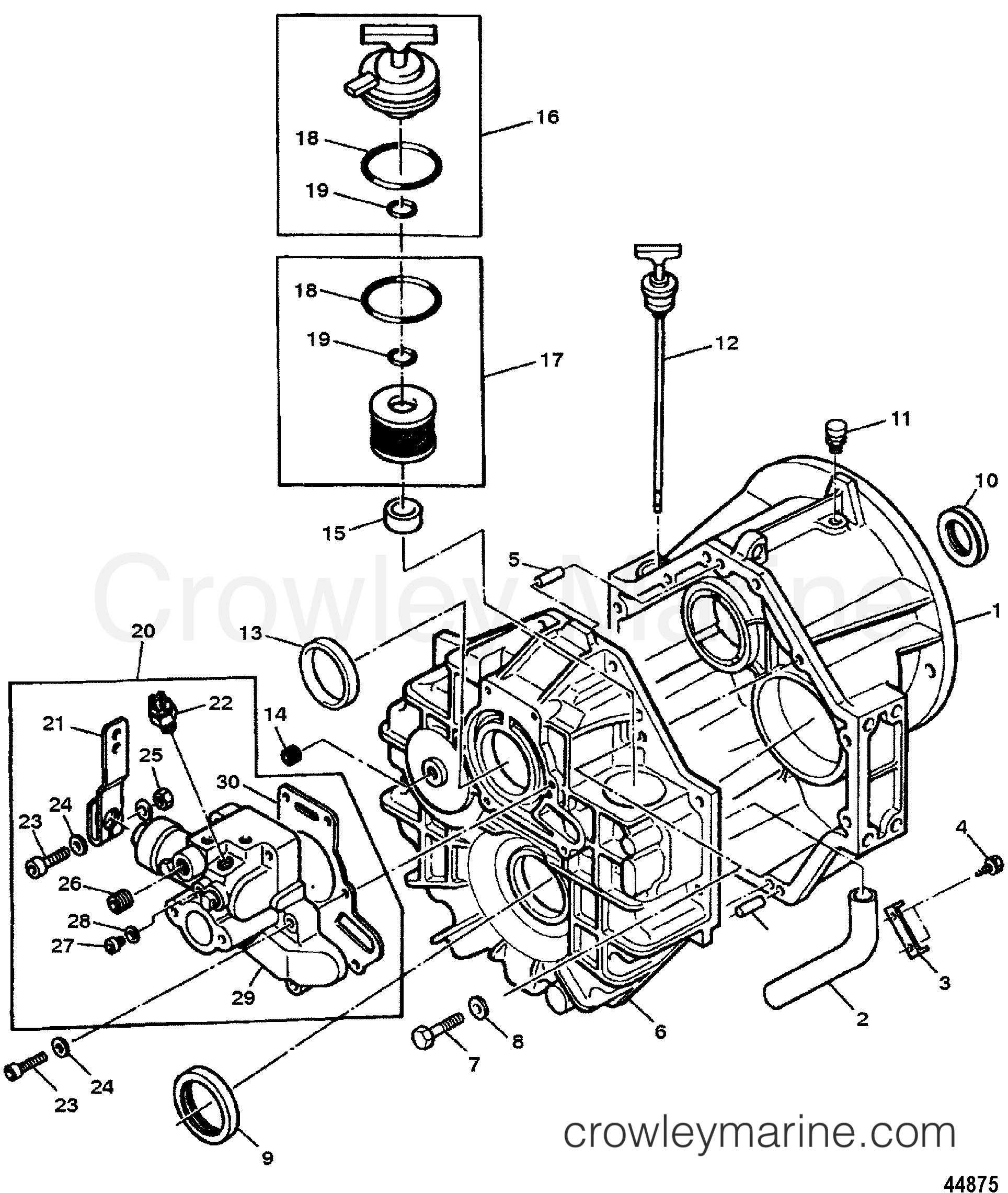 transmission in-line   hurth 800