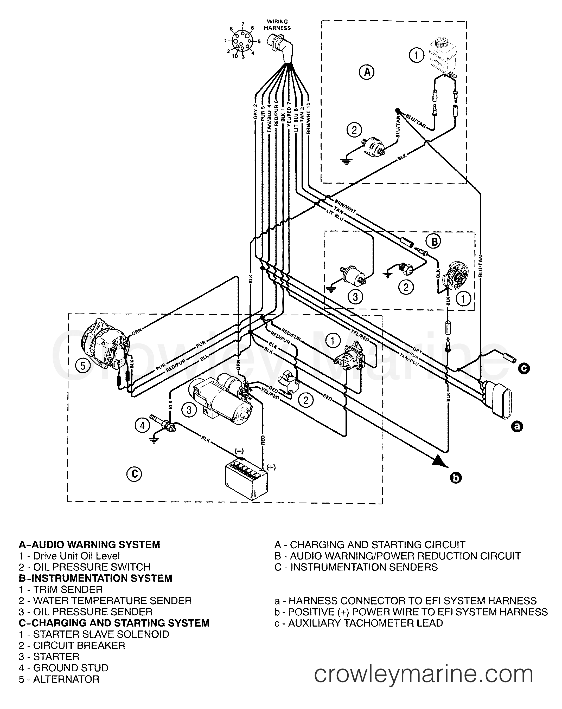 1996 4 3 Mercruiser Engine Distributer Wiring Diagram ...  L Mercruiser Wiring Schematic on
