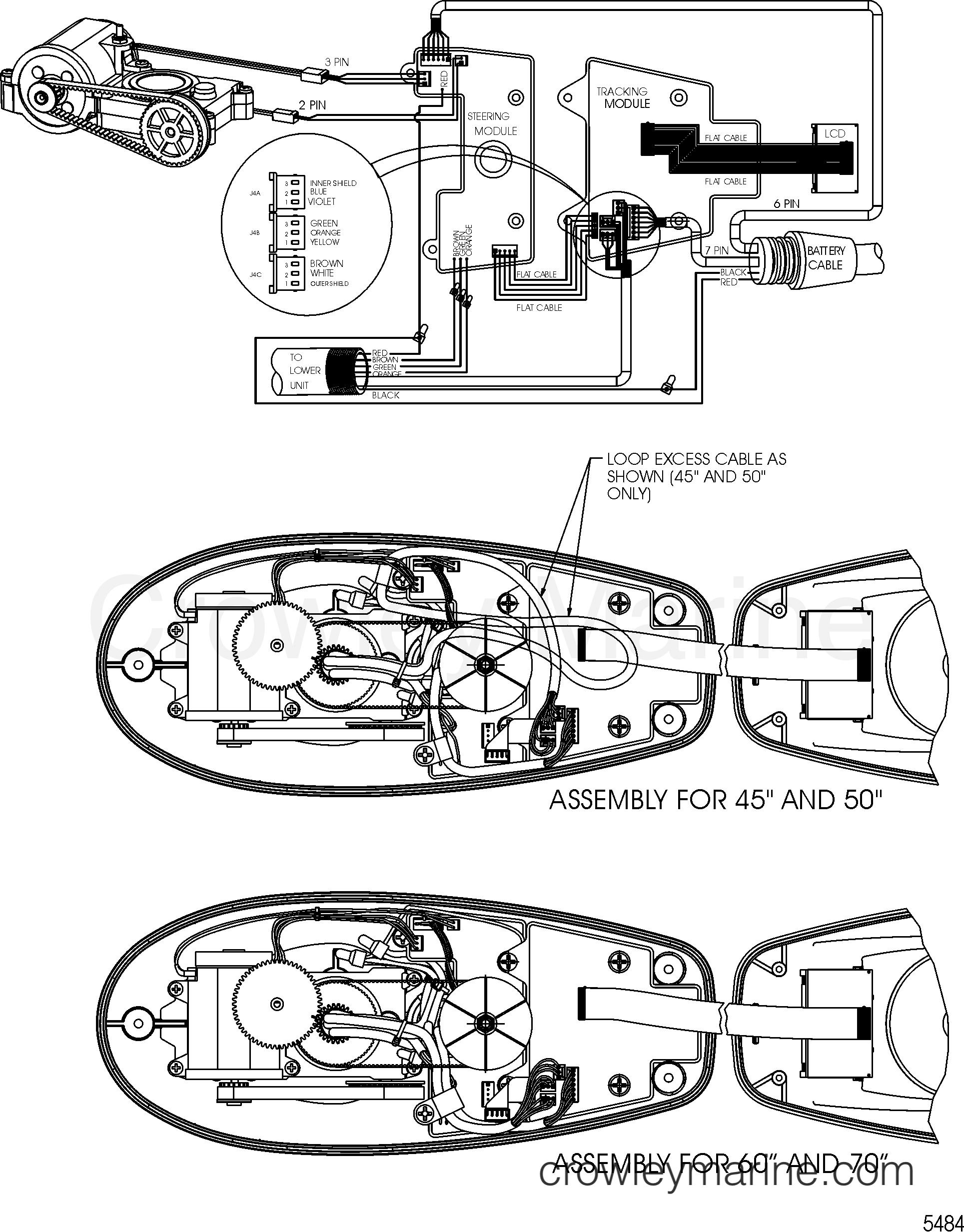 Wire Diagram Model Ptsv109fbd   36 Volt
