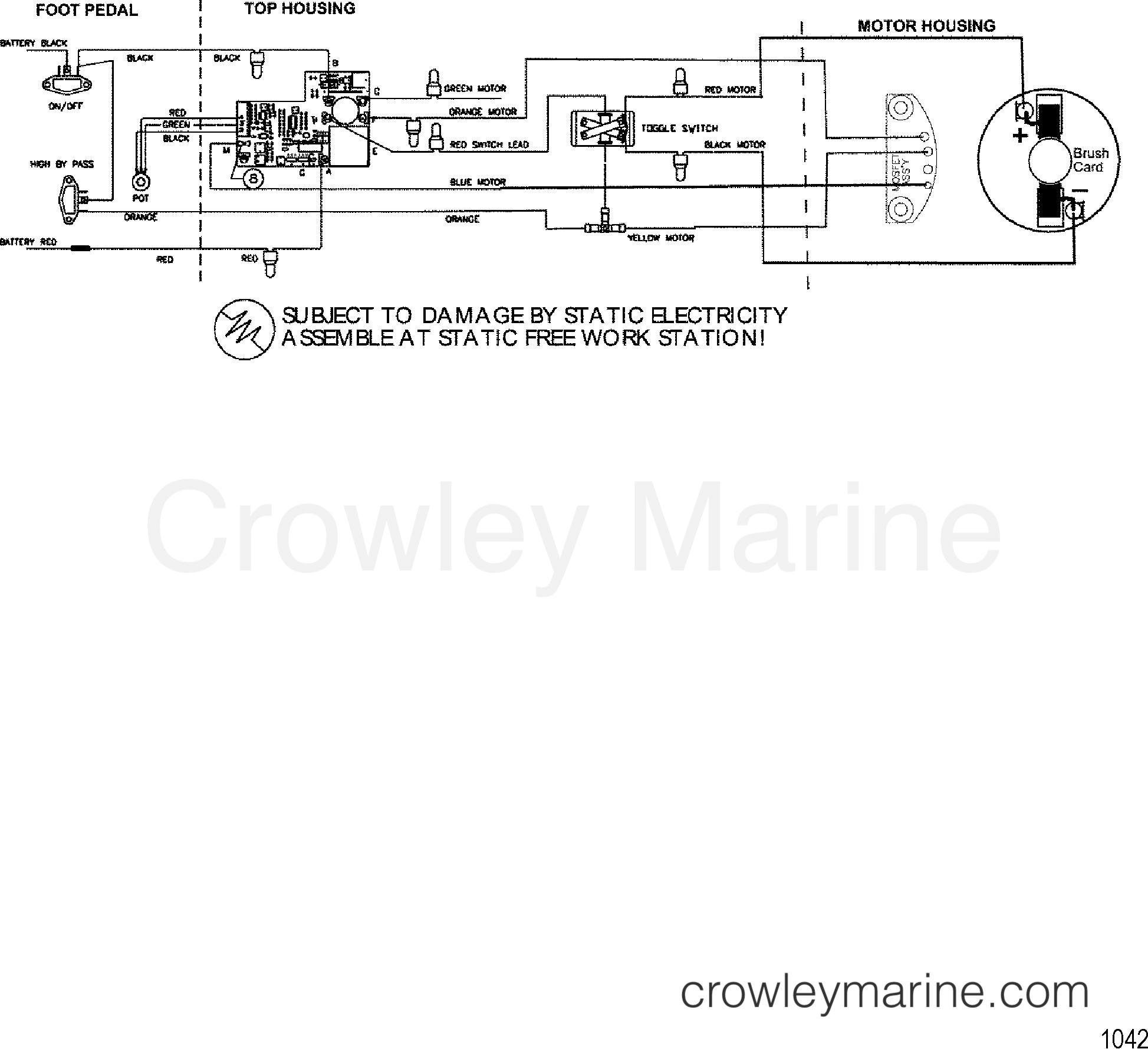 1999 motorguide 12/24v [motorguide] - 9667b49v1 - wire diagram(model 660v
