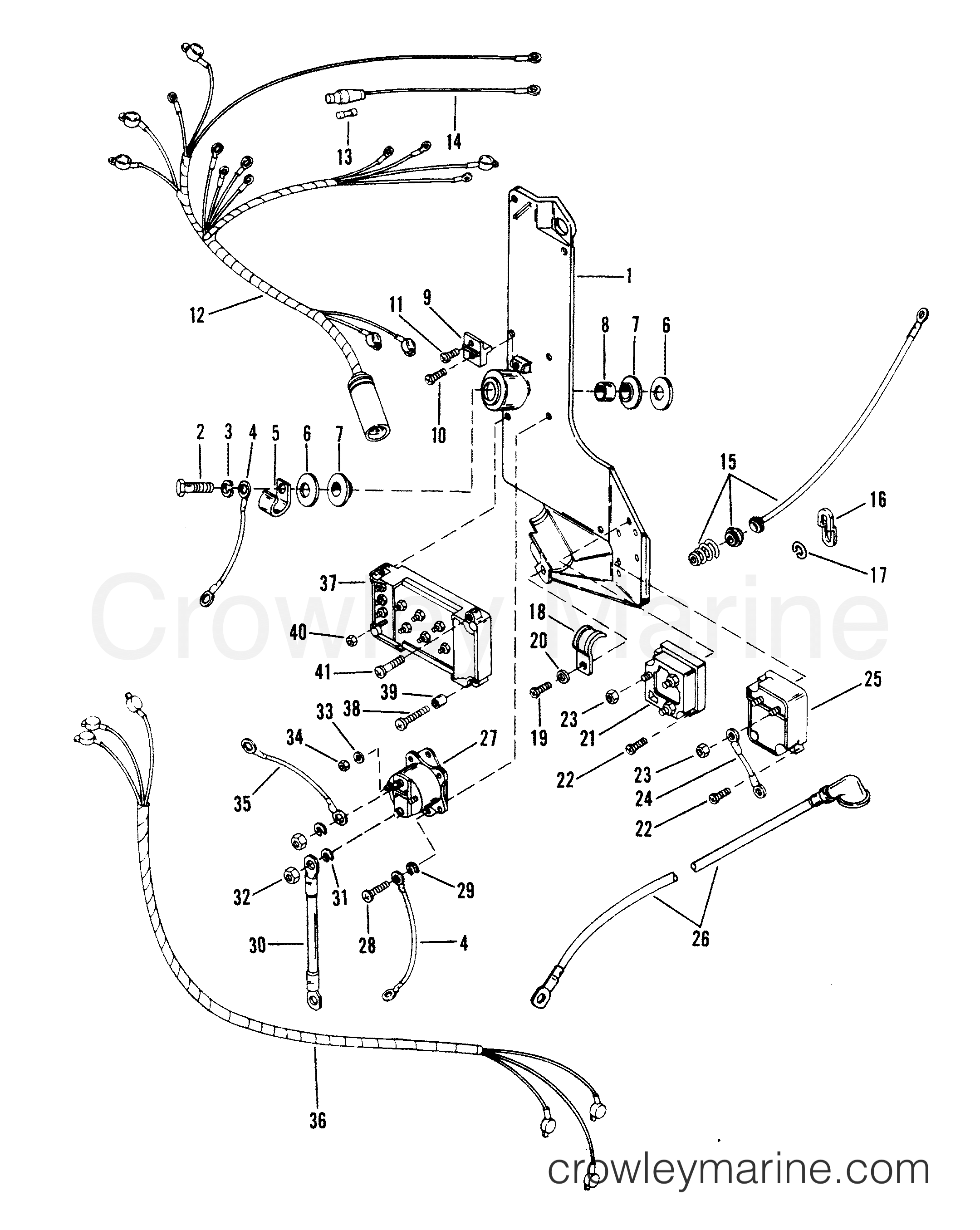 1996 evinrude skimmer snowmobile wiring diagram online wiring diagram Single Humbucker Single Volume Wiring mercury solenoid wiring schematic librarywiring harness starter solenoid and rectifier serial range