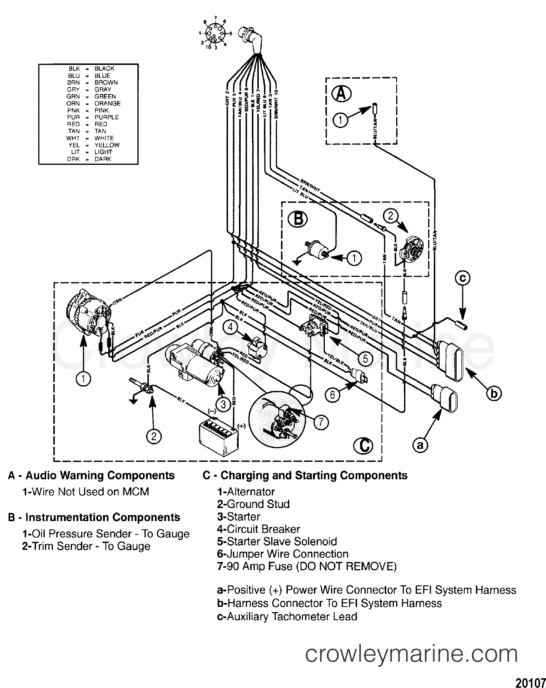 mpi mercruiser engine wiring diagram