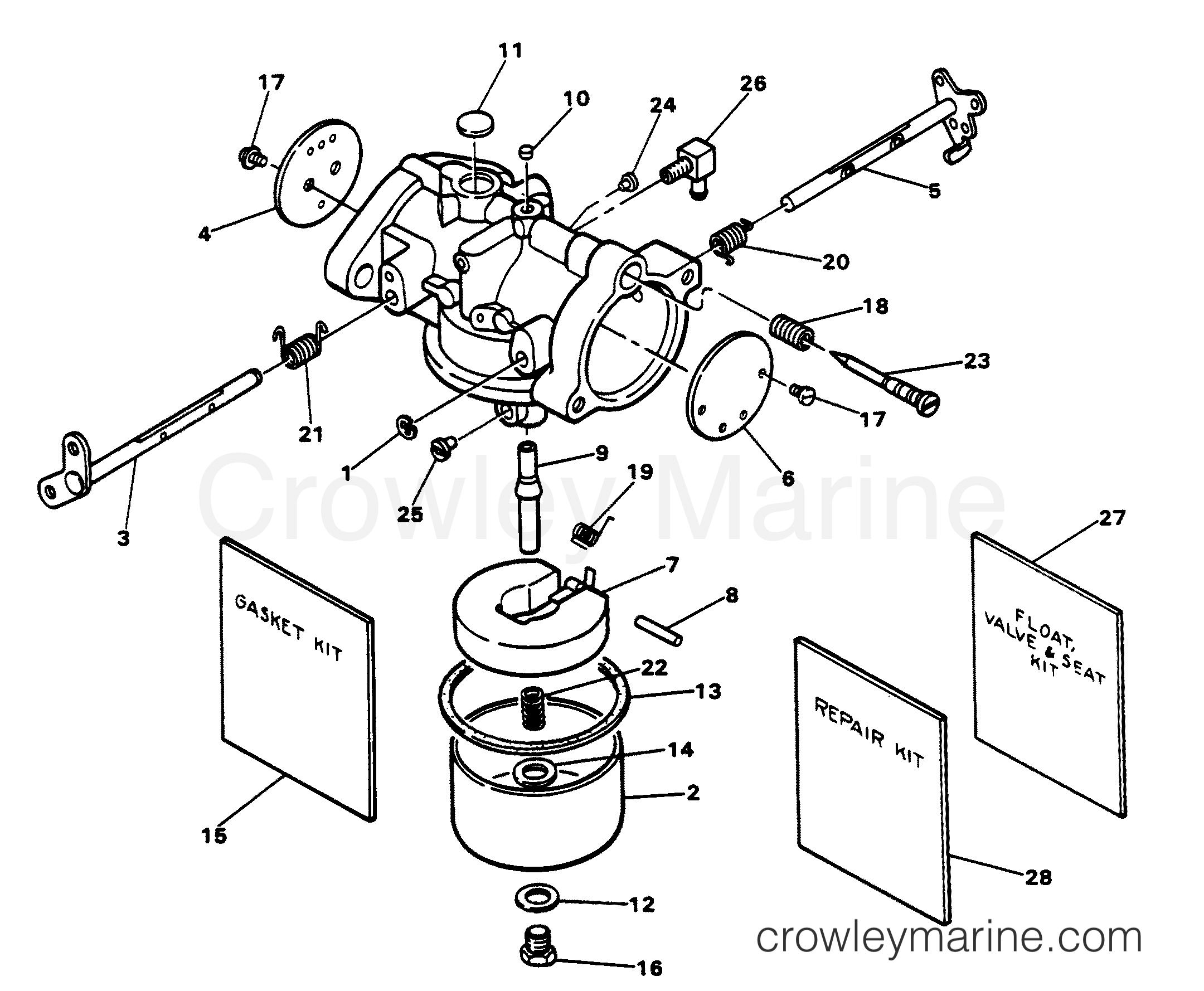carburetor  side jet style