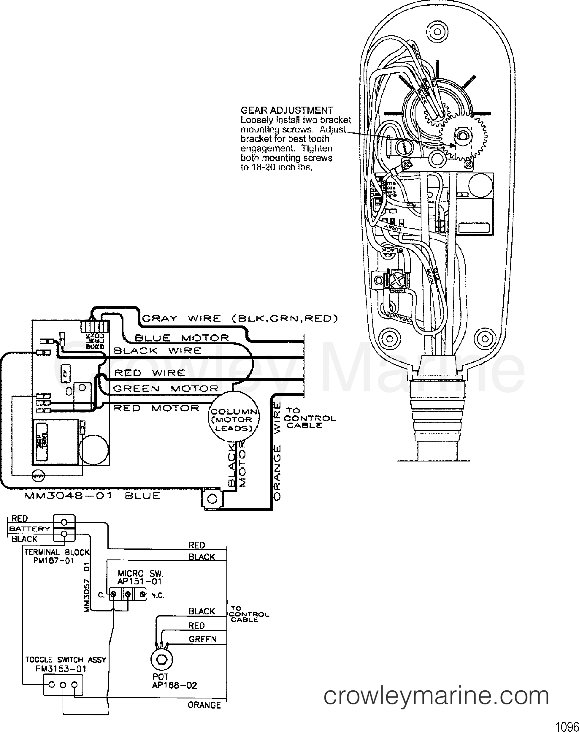 Wire Diagram Model Te784v   36 Volt