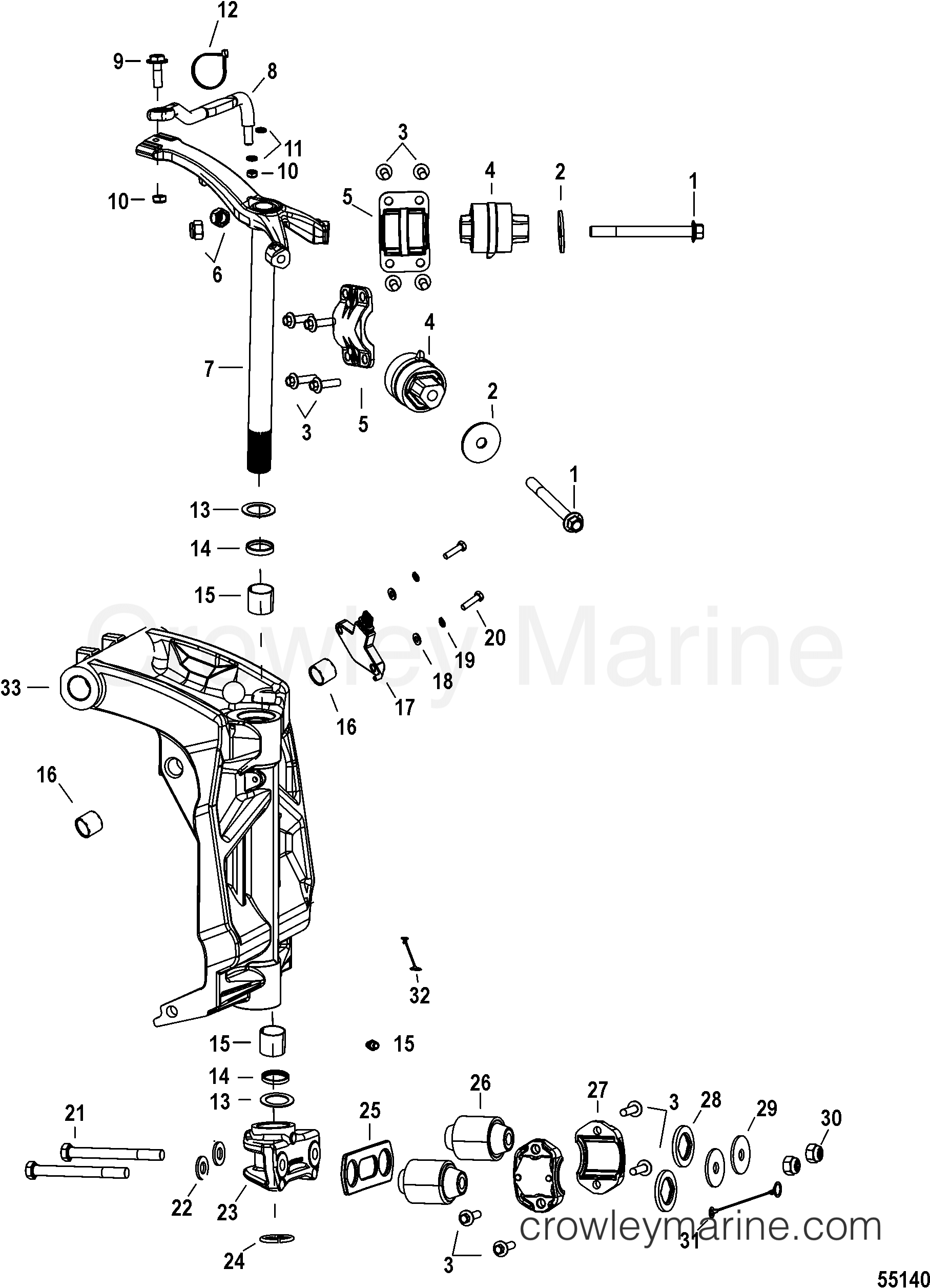 mercury outboard parts diagrams serial numbers