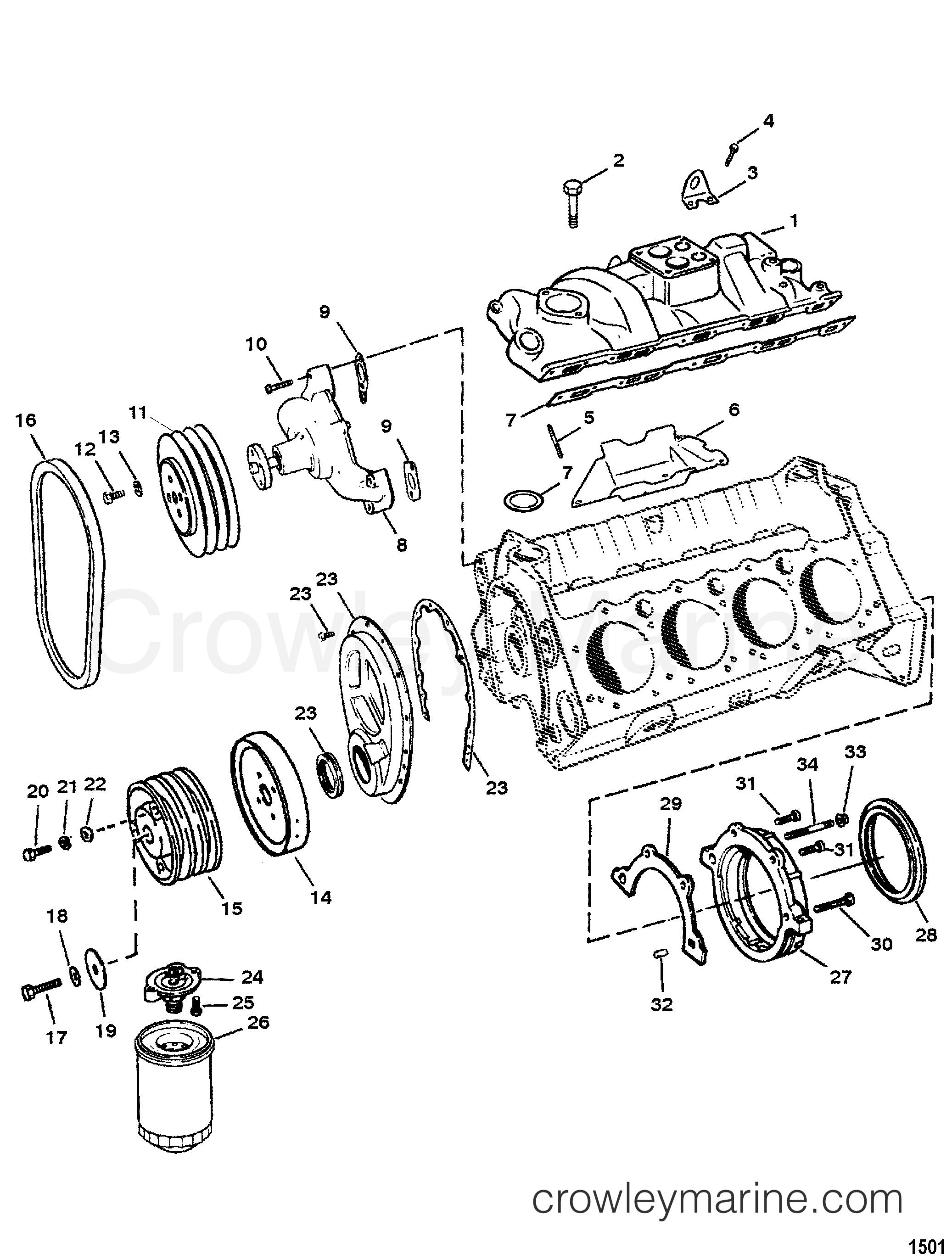 1991 Corvette Engine Diagram