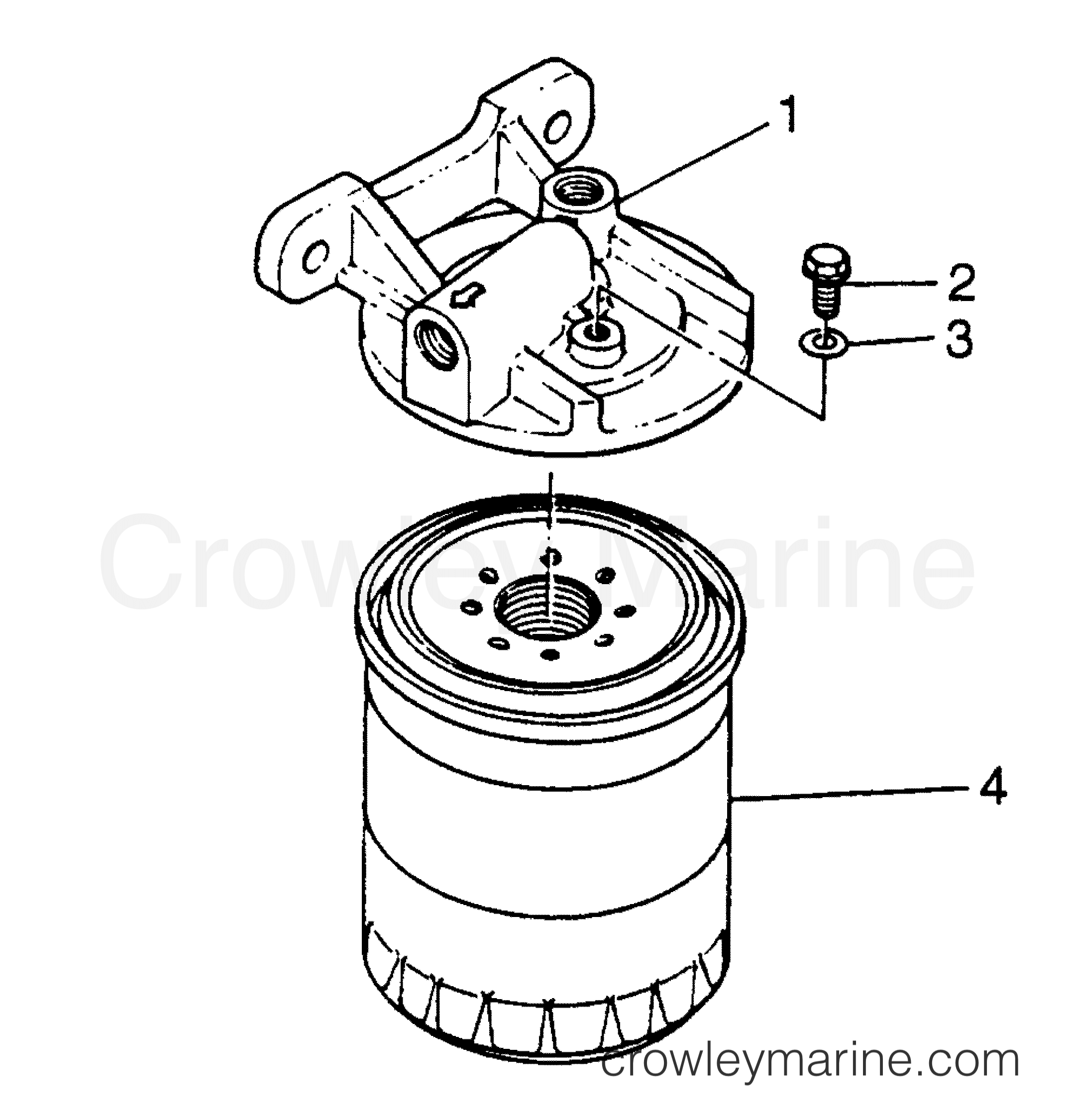 filter assembly - fuel