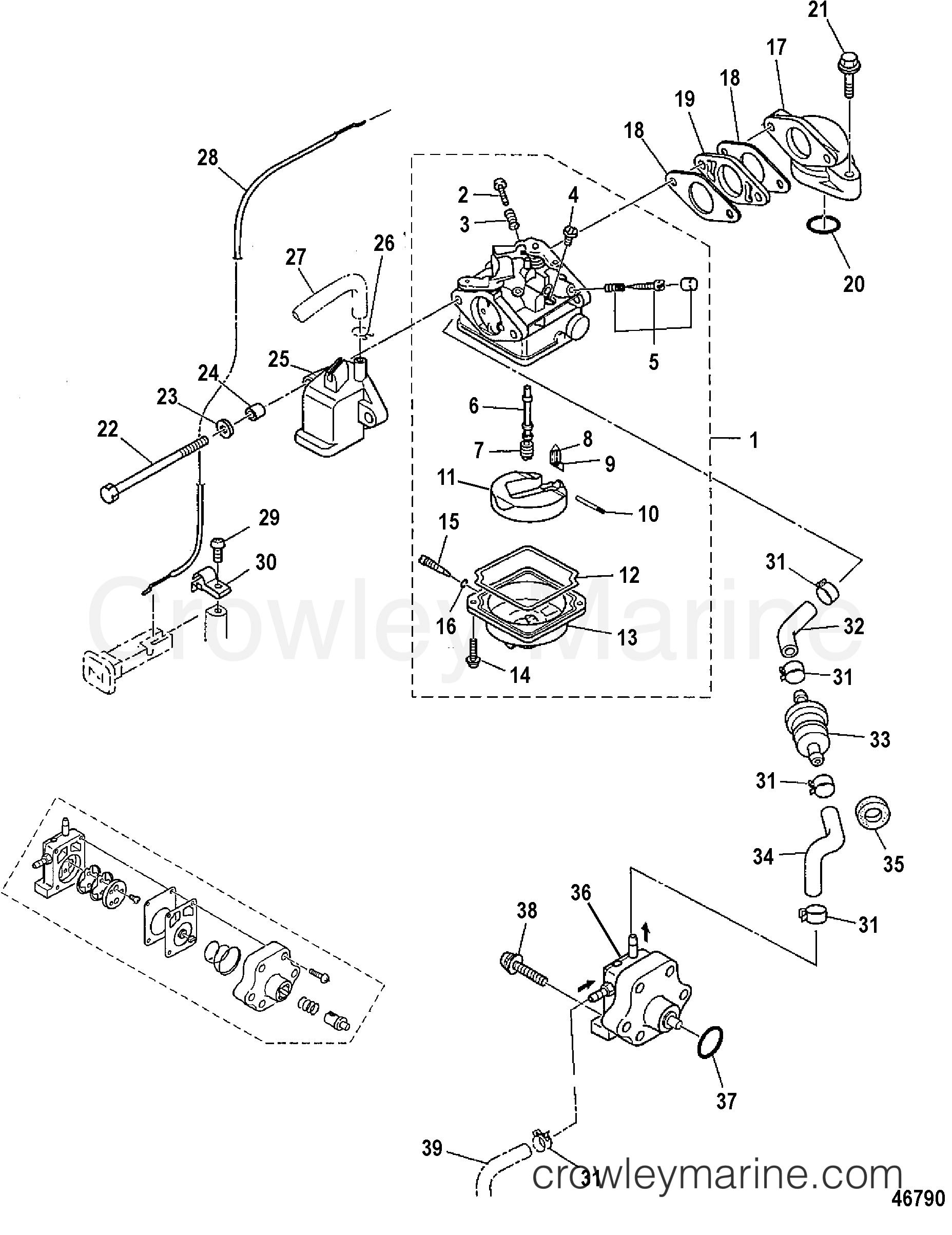 carburetor and fuel system