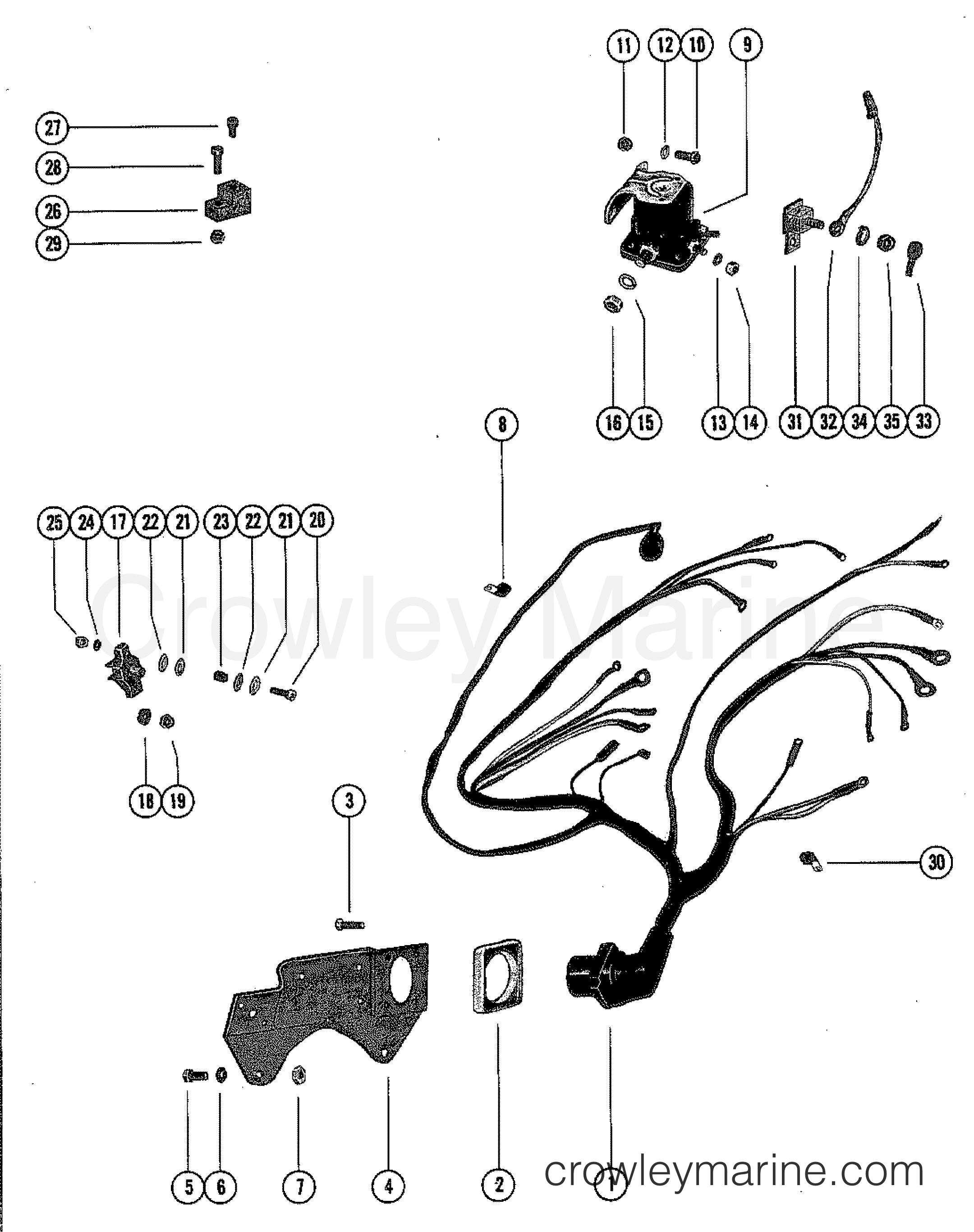 1982 mercury outboard wiring diagram