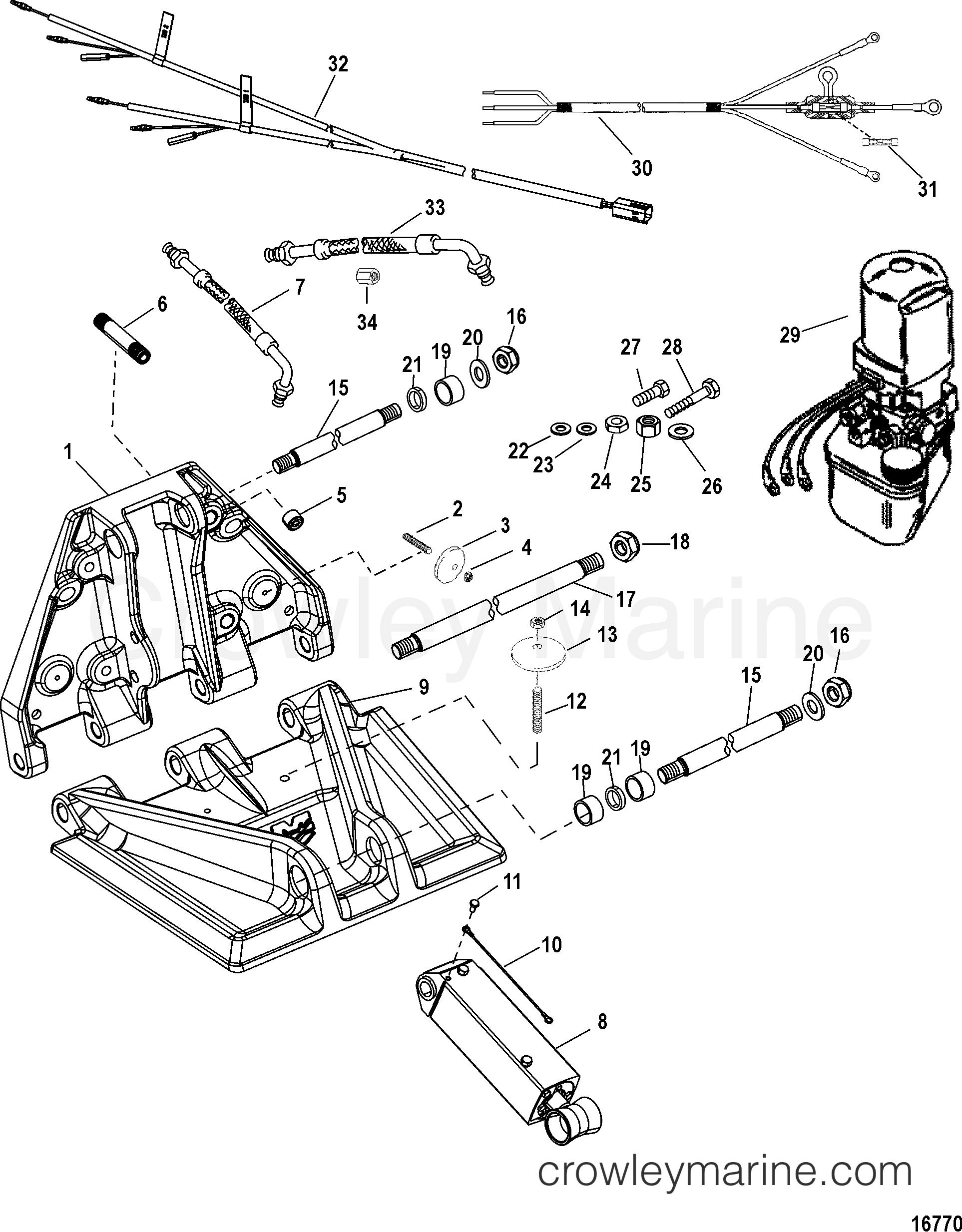 trim tab mercruiser wiring diagram wiring diagram Johnson 120 Wiring Diagram trim tab mercruiser wiring diagram