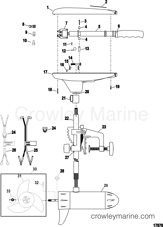 FYrix9QB 24 and 36 volt wiring diagrams trollingmotors readingrat net Basic Electrical Wiring Diagrams at gsmx.co
