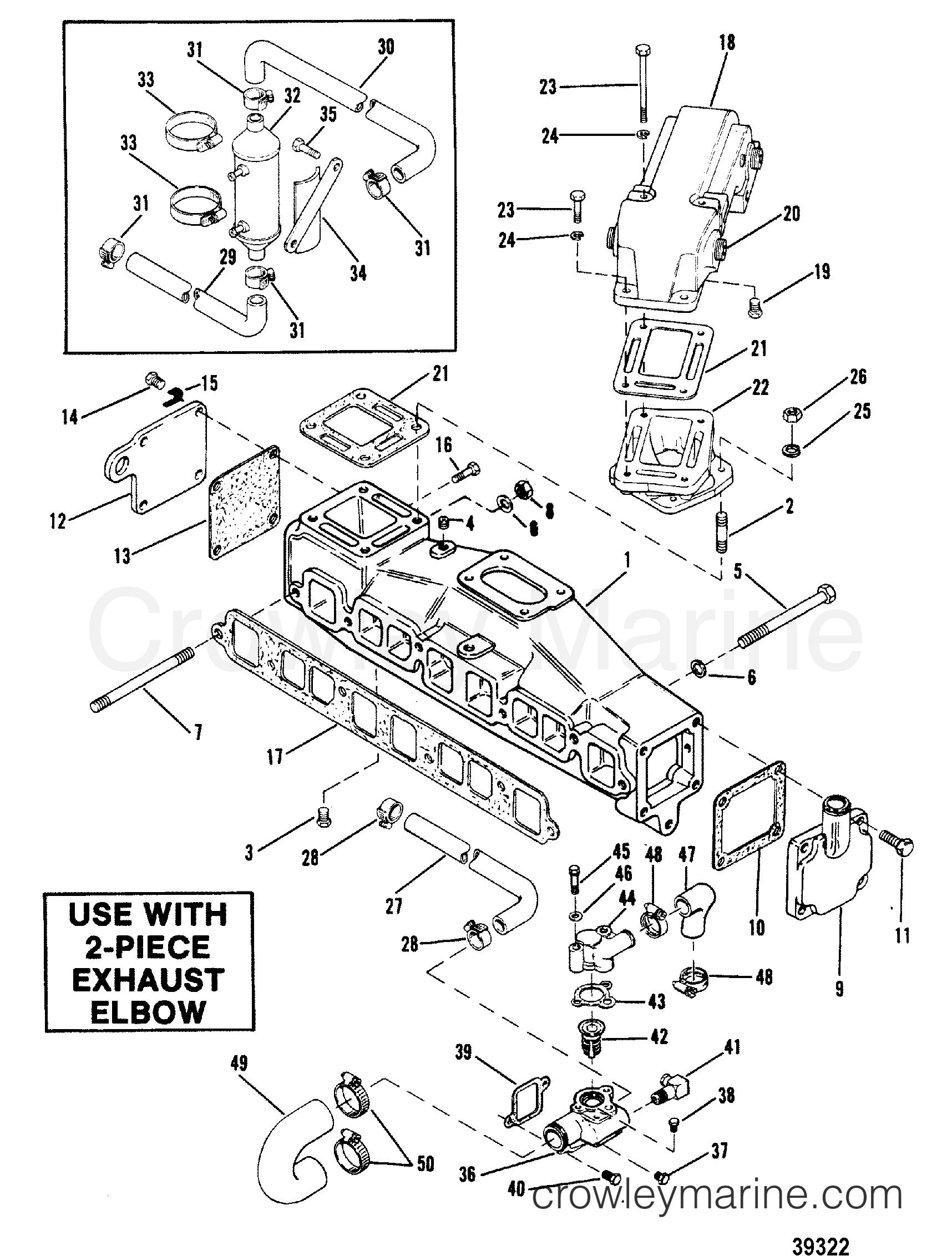 Mercruiser Exhaust Diagram - Function Wiring Diagram
