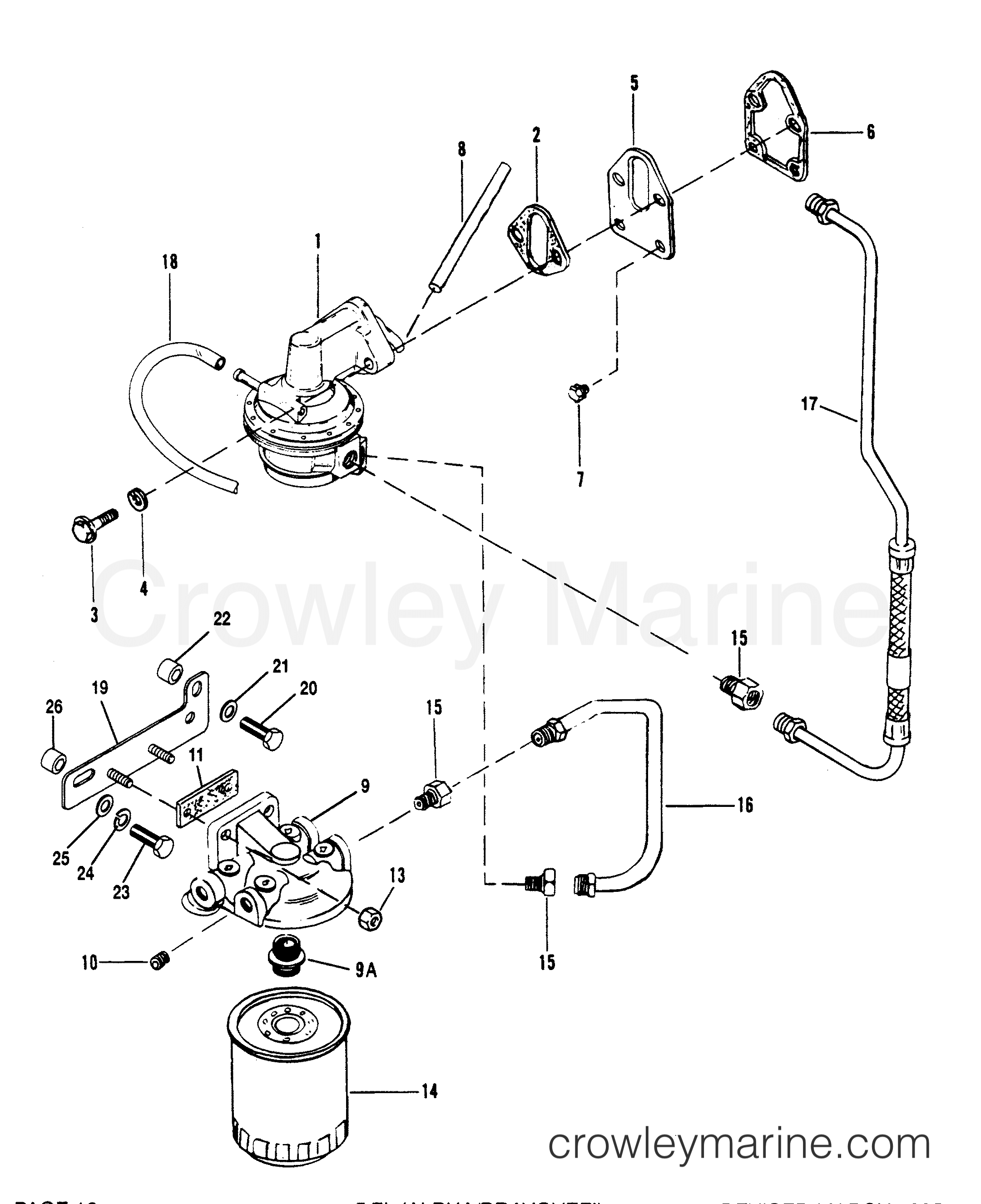 mercruiser fuel pump diagram wiring diagram data val
