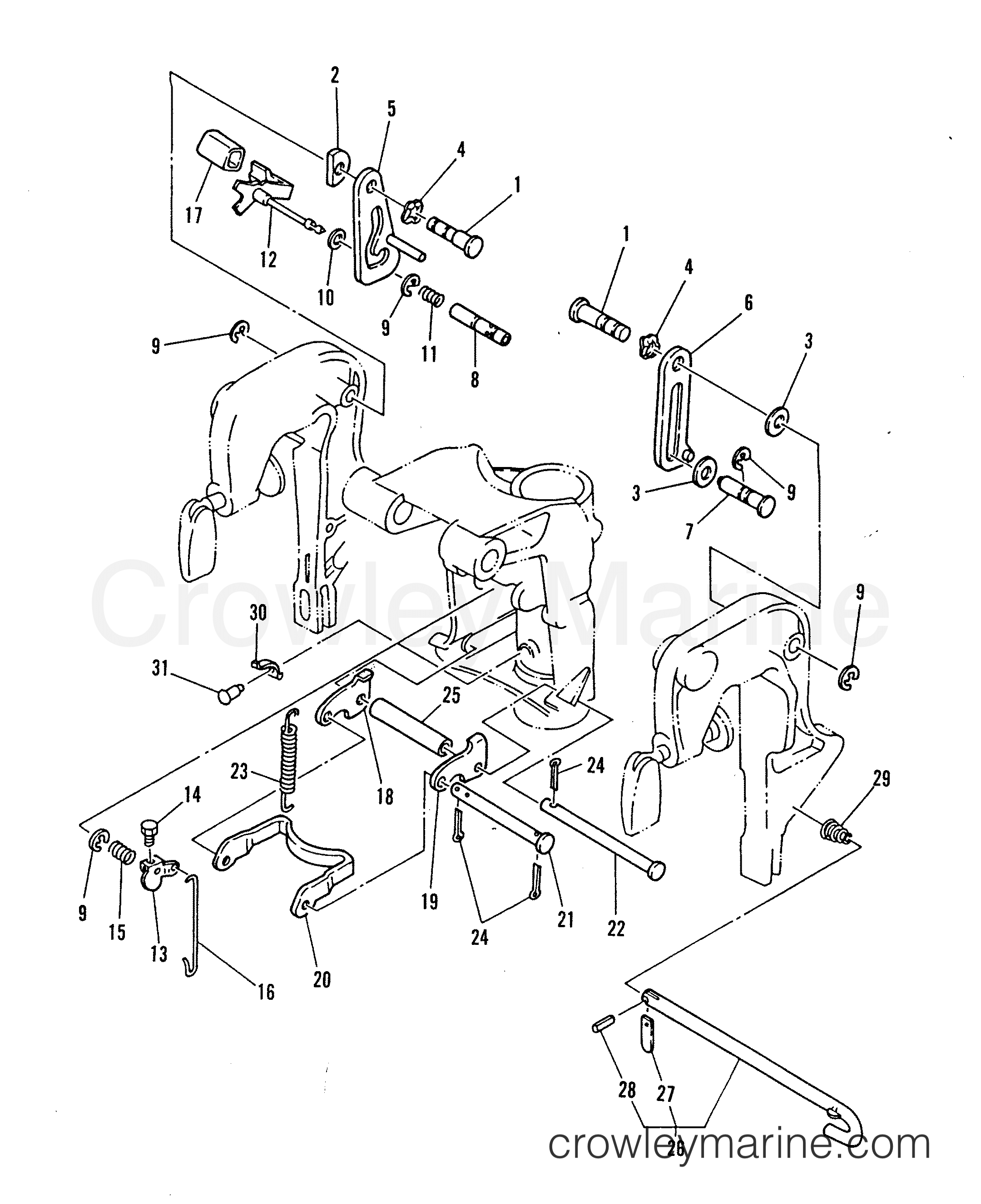 mariner outboard motor parts diagram wiring diagrams Gun Identification by Serial Number tilt lever pin 1986 mariner outboard 40 elo 7040716 8hp mariner outboard parts diagram mariner outboard motor parts list