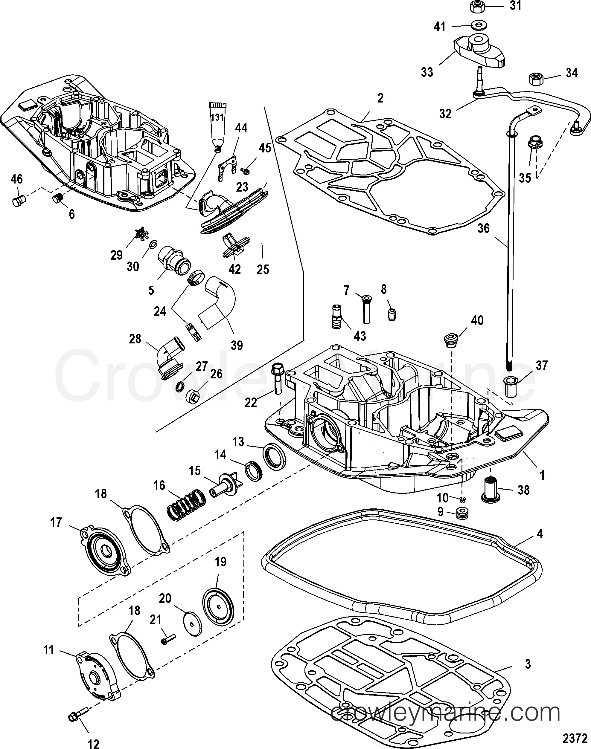 exhaust plate
