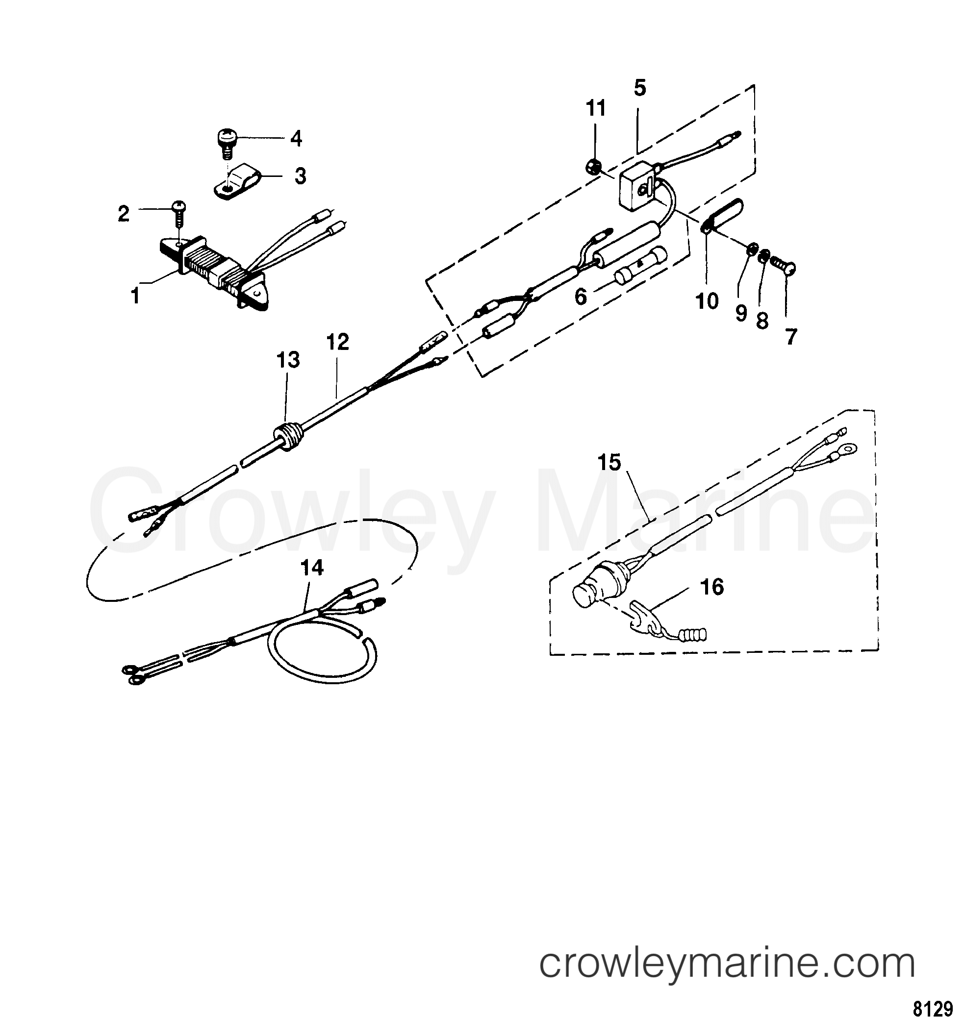 Serial Range Mariner Outboard 6 (4-STROKE) - 0R000001 THRU 0R067089 [USA] - SAILPOWER/SAILMATE COMPONENTS section